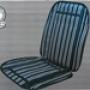 Накидка охлаждающая на сиденье автомобиля HEYNER черно-серая