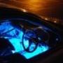 Голубая светодиодная подсветка днища авто LedGlow