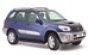 Дефлекторы боковых окон 4 ч. темные Toyota RAV4-(2000-2006)