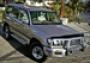 Дефлектор капота широкий темный Land Cruiser 100 (1998-2007)