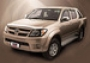 Дефлекторы боковых окон 4 ч Toyota Hilux (2005-)