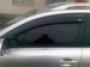 Дефлекторы боков окон 4 ч тем широк Toyota Avensis (2003-2009)