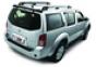 Дефлектор заднего стекла темный Nissan Pathfinder(2005-)
