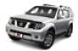 Дефлекторы боковых окон 4 ч. темные Nissan Navara (2005-)