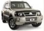 Защита передних фар карбон Mitsubishi Pajero (2000-2006