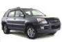 Дефлекторы боковых окон 4 ч. темный Kia Sportage (2005-)(2008-)