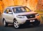 Защита передних фар прозр. Hyundai Santa Fe (2006-)
