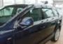 Дефлекторы боковых окон Audi Q7 (4ч) (темн) (узкие)