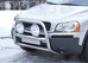Передняя защита d60 Volvo XC90 (нерж.)  (Метек). Артикул 838030