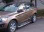 Боковая защита труба с листомd60 Volvo XC60 (2008-) (нерж) (Мете