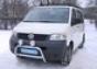 Передняя защита d60 Volkswagen Transporter T5 (нерж.) (Метек). А