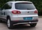 Задняя защита труба Volkswagen Tiguan 2007- d48 (нерж.)  (Метек)