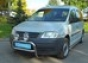 Передняя защита А-дуга низкая d60 Volkswagen Caddy 2004- (нерж.)