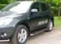 Боковая ступень d60 Toyota RAV4 (2006-) (нерж.)  (Метек). Артику