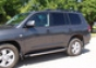 Накладка на пороги Toyota Land Cruiser 200 (нерж.) (Метек). Арти
