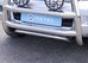 Защита картера d42 Toyota Land Cruiser 120 (нерж.) (Метек). Арти
