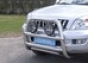 Передняя защита d76 Toyota Land Cruiser 120 (нерж.)  (Метек). Ар