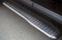 Пороги с листом (алюмин.) d60 Toyota HDJ 100 (Метек). Артикул 83