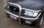 Передняя защита d76-42 Toyota HDJ 100 (нерж.) (Метек). Артикул 8