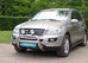 Передняя защита d76 низкая Mercedes-Benz М-класс (2005-) (нерж.)