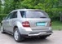 Задняя защита волна Mercedes-Benz М-класс (2005-) d60 (нерж.) (М