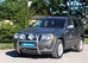 Передняя защита дуга Jeep Grand Cherokee d76 2008- (нерж.) (Мете