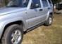 Боковая защита труба d60 Jeep Cherokee KJ (2001-) (5 дв) (нерж.)