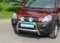 """Передняя защита """"низкая"""" d60 Hyundai Tucson (нерж.)  ("""