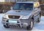 """Передняя защита """"низкая"""" d60-42 Hyundai Terracan (2004"""