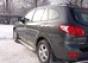 Боковая ступень с листом d60 Hyundai Santa Fe (2006-) (нерж.) (М