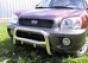 Передняя защита d60 Hyundai Santa Fe (-2005) мал (нерж.)  (Метек
