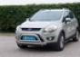 Передняя защита двойная перемычка Ford Kuga 2008- (нерж.) (Метек