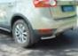 Задняя защита уголки d60 Ford Kuga 2008- (нерж.)  (Метек). Артик