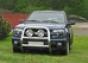 Передняя защита d76 Chevrolet Trail Blazer (2001-)(нерж.)  (Мете