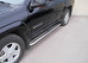 Боковая защита d60-25 Chevrolet Trail Blazer (2001-) (5дв.) (нер