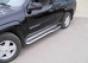Боковая ступень d60 Chevrolet Trail Blazer (2001-) (5дв.) (нерж.