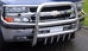 Передняя защита d76-42 Chevrolet Tahoe (2000-) с защитой картера