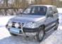 Передняя защита d60 Chevrolet Niva (нерж.) (Метек). Артикул 8003