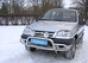 """Передняя защита """"низкая"""" d60-42 Chevrolet Niva (нерж.)"""