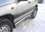 Боковая защита d60 Chevrolet Niva (нерж.) (Метек). Артикул 80041